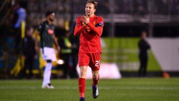 Lucas Leila scores for Liverpool