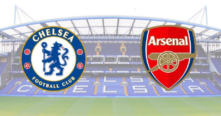 Chelsea v Arsenal at Stamford Bridge