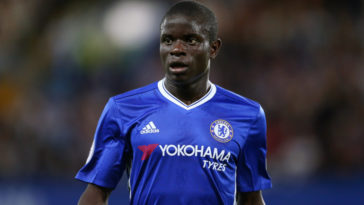 N'Golo Kante in action for Chelse in the Premier League