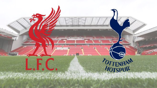 Liverpool v Tottenham at Anfield in the Premier League