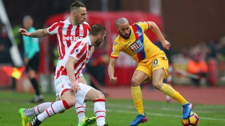 Stoke v Crystal Palace at the bet365 stadium