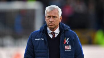 Alan Pardew as manager of Crystal Palace