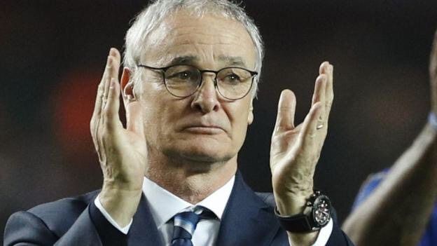 Leicester City boss Claudio Ranieri