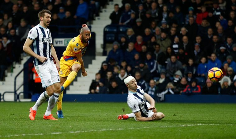 Andros Townsend scores a wonderful goal as Crystal Palace beat West Bromwich Albion at the Hawthorns