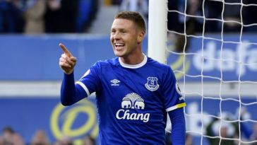 Everton midfielder James McCarthy