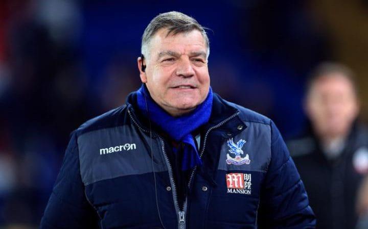 Sam Allardyce Crystal Palace manager