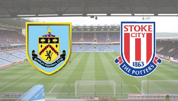 Burnley v Stoke in the Premier League