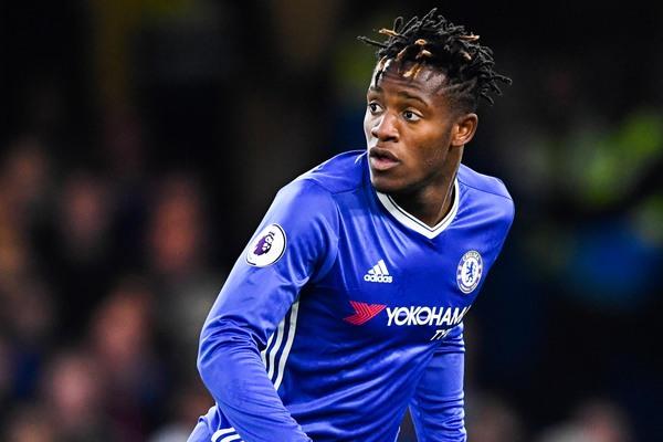 Chelsea striker Michu Batshuayi