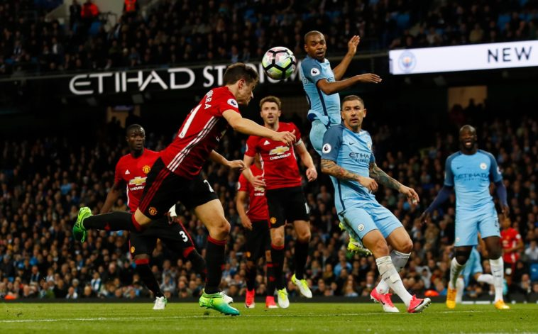 Ander Herrera squanders a big chance for Man Utd against Man City in the Manchester Derby