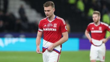 Middlesbrough defender Ben Gibson