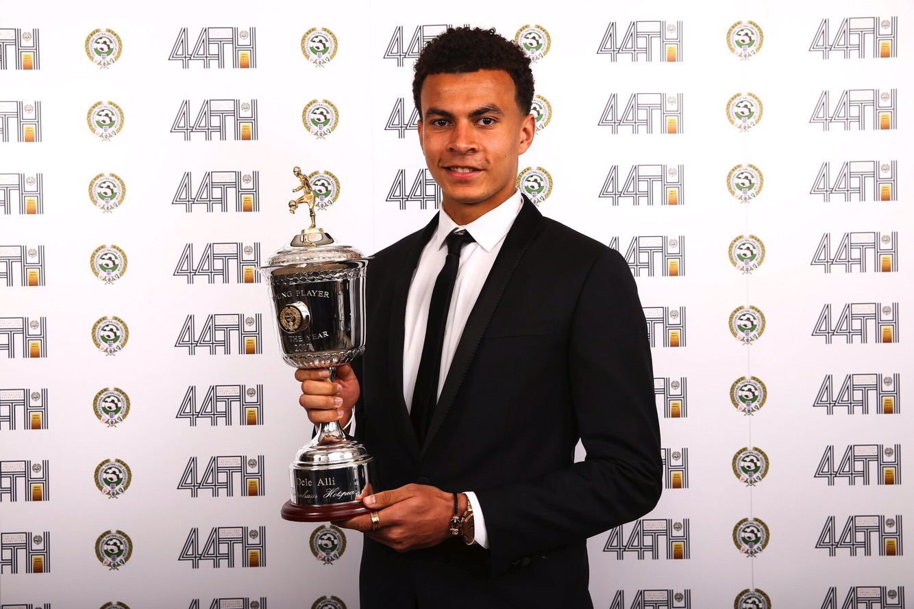 Dele Alli PFA Young Player of the Year 2016/17