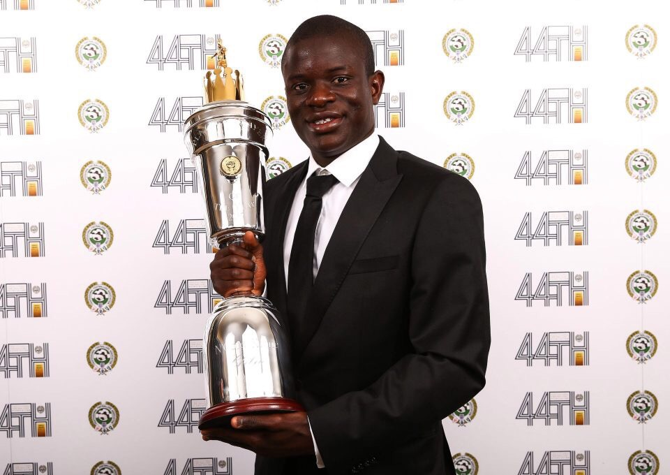 N'Golo Kante PFA Player of the Year 2016/17