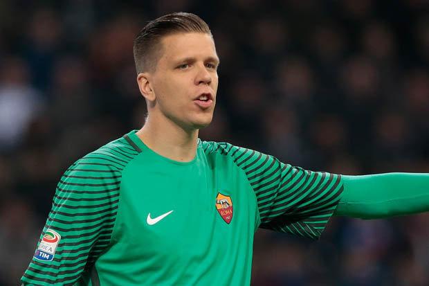 Roma's on loan Arsenal goalkeeper Woijech Szczesny