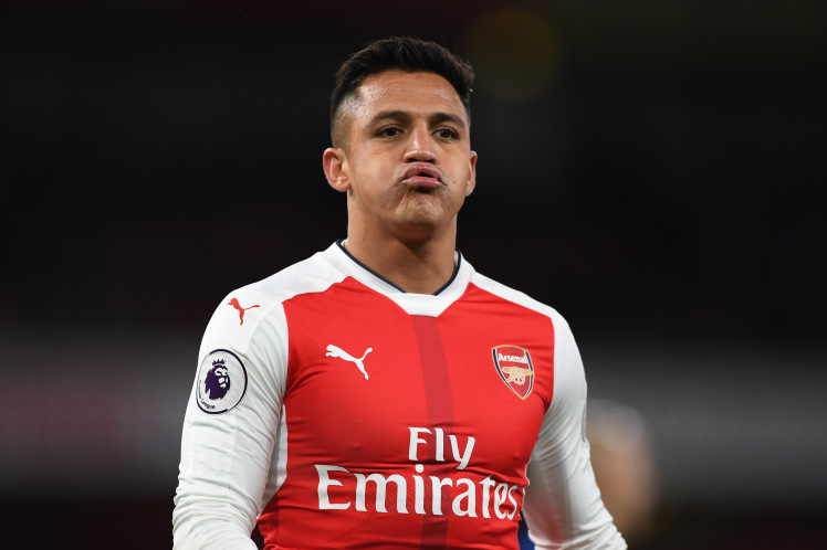 Arsenal star Alexis Sanchez 2017