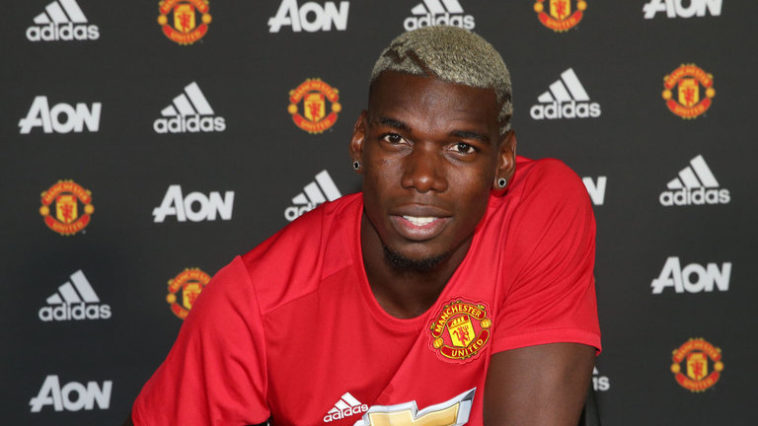 Manchester United sign Paul Pogba