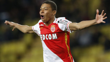 Monaco sensation Kylian Mbappe