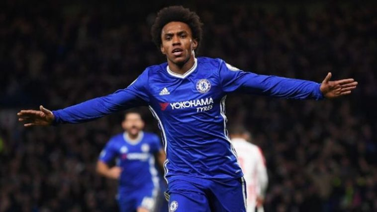 Chelsea winger Willian