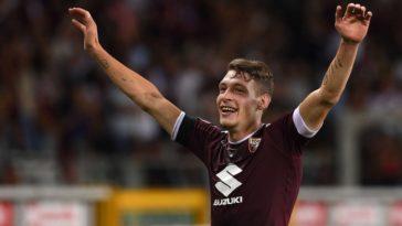 Torino striker Andrea Belotti