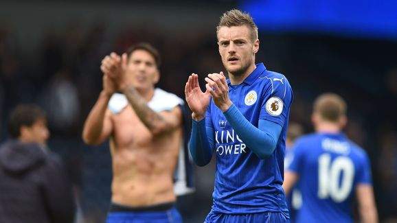 Leicester City striker Jaime Vardy