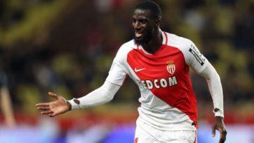 Monaco midfielder Tiemoue Bakayoko