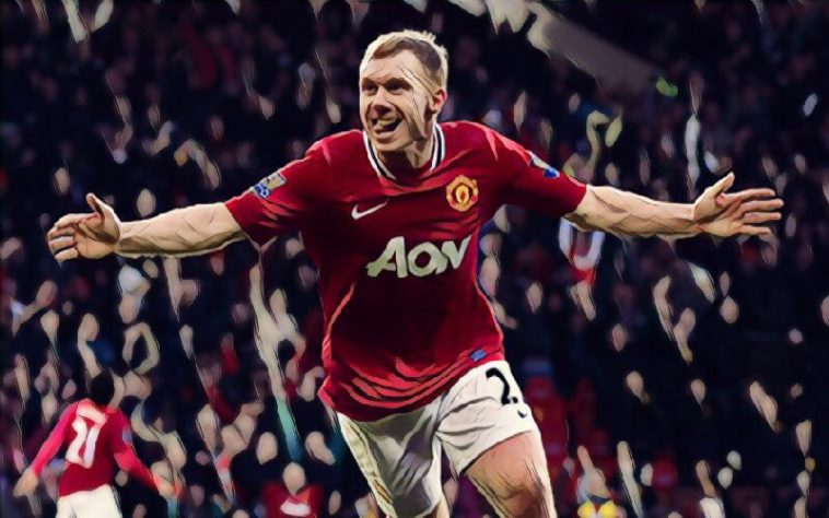 scholes manchester united premier league