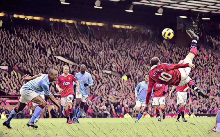 wayne rooney best volleys