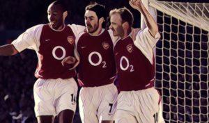Top six teams with fewest defeats in a Premier League season