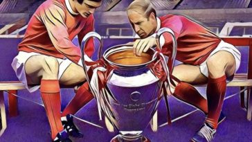 Bobby Charlton george best manchester united European Cup