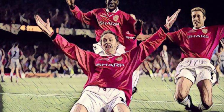 Solskjaer manchester united champions league 1999