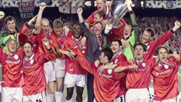 manchester united treble