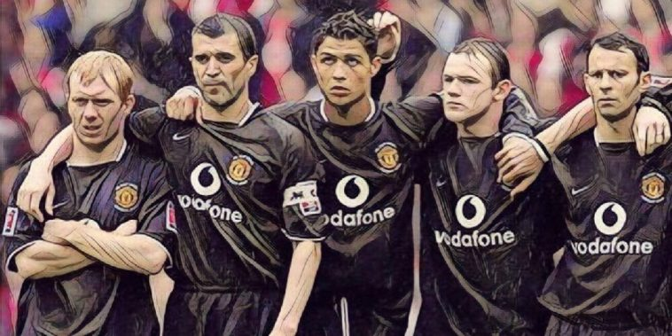 Keane Rooney Ronaldo