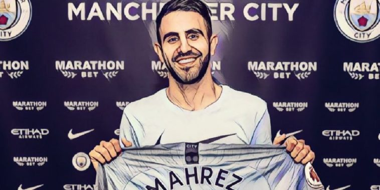 Manchester City sign Riyad Mahrez