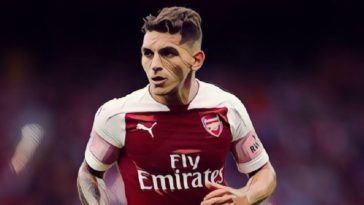 arsenal midfielder lucas torreira
