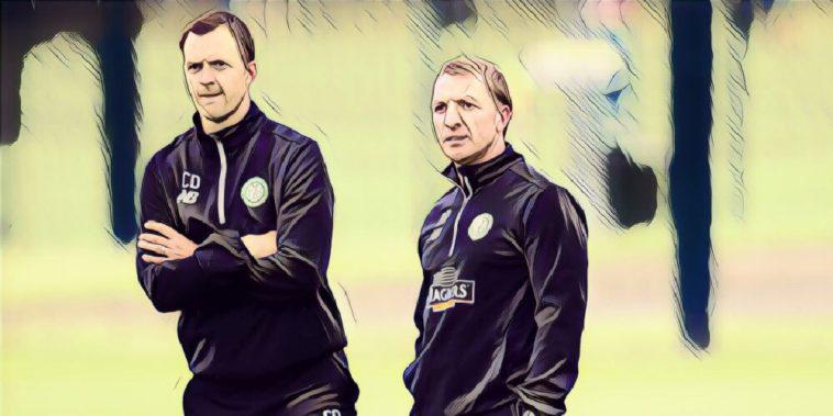 Brendan Rodgers and Chris Davies