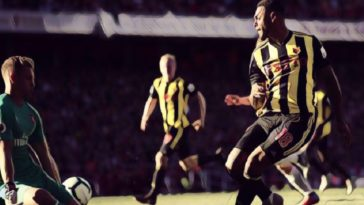 Andre Gray spurns an opportunity for Watford against Arsenal