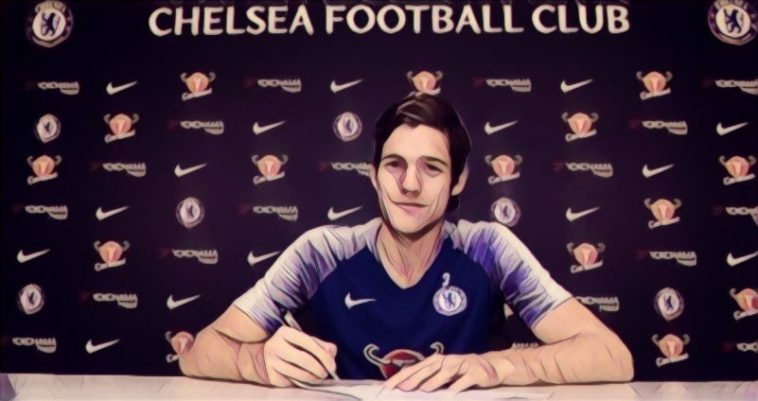 Marcos Alonso signs a contract extension at Chelsea