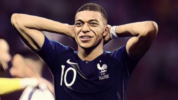 France and PSG forward, Kylian Mbappe