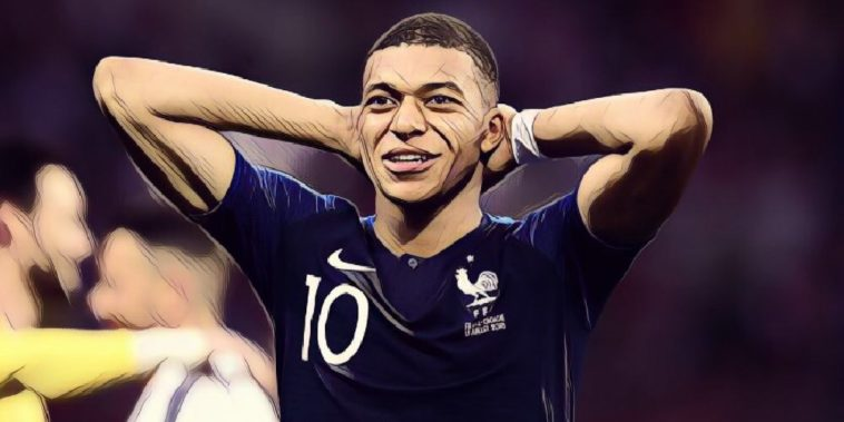 France and PSG forward, Kylian Mbappe