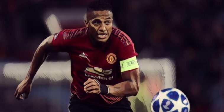 Manchester United captain Antonio Valencia