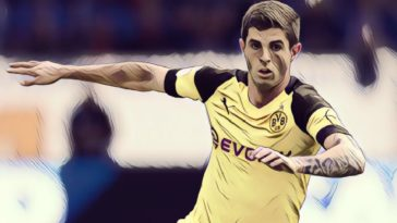 Borussia Dortmund ace Christian Pulisic
