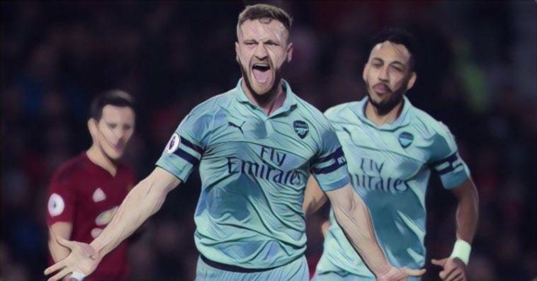 Mustafi Man United v Arsenal