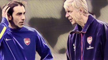 Robert Pires Arsene Wenger
