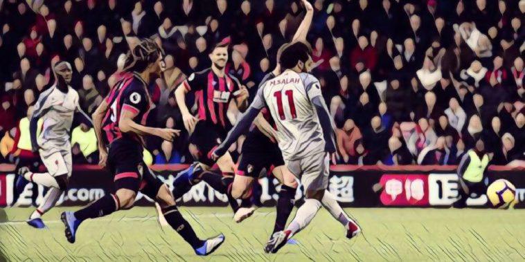 Salah scores v Bournemouth
