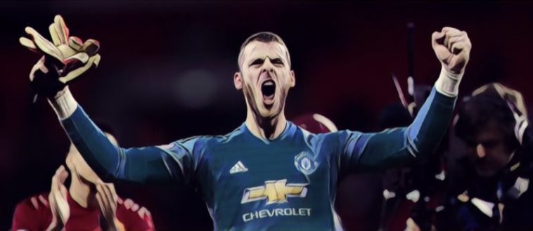 De Gea Spurs v Man United