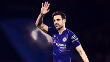 Fabregas Chelsea farewell