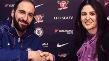 Higuain Chelsea