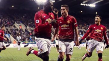 Lukaku Newcasle 0-2 Man United