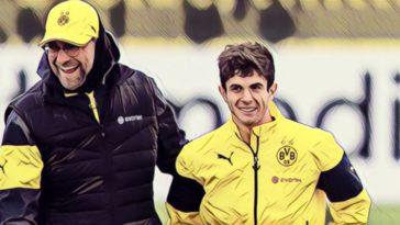 Pulisic Klopp Dortmund