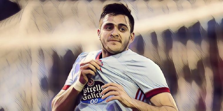 Celta Vigo striker Maxi Gomez