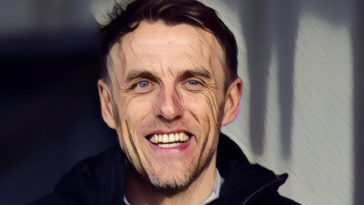 England womens coach Phil Neville